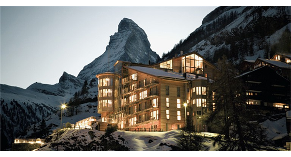 Photo: The Omnia, hôtel à Zermatt (source: https://www.the-omnia.com/de/hotel/)